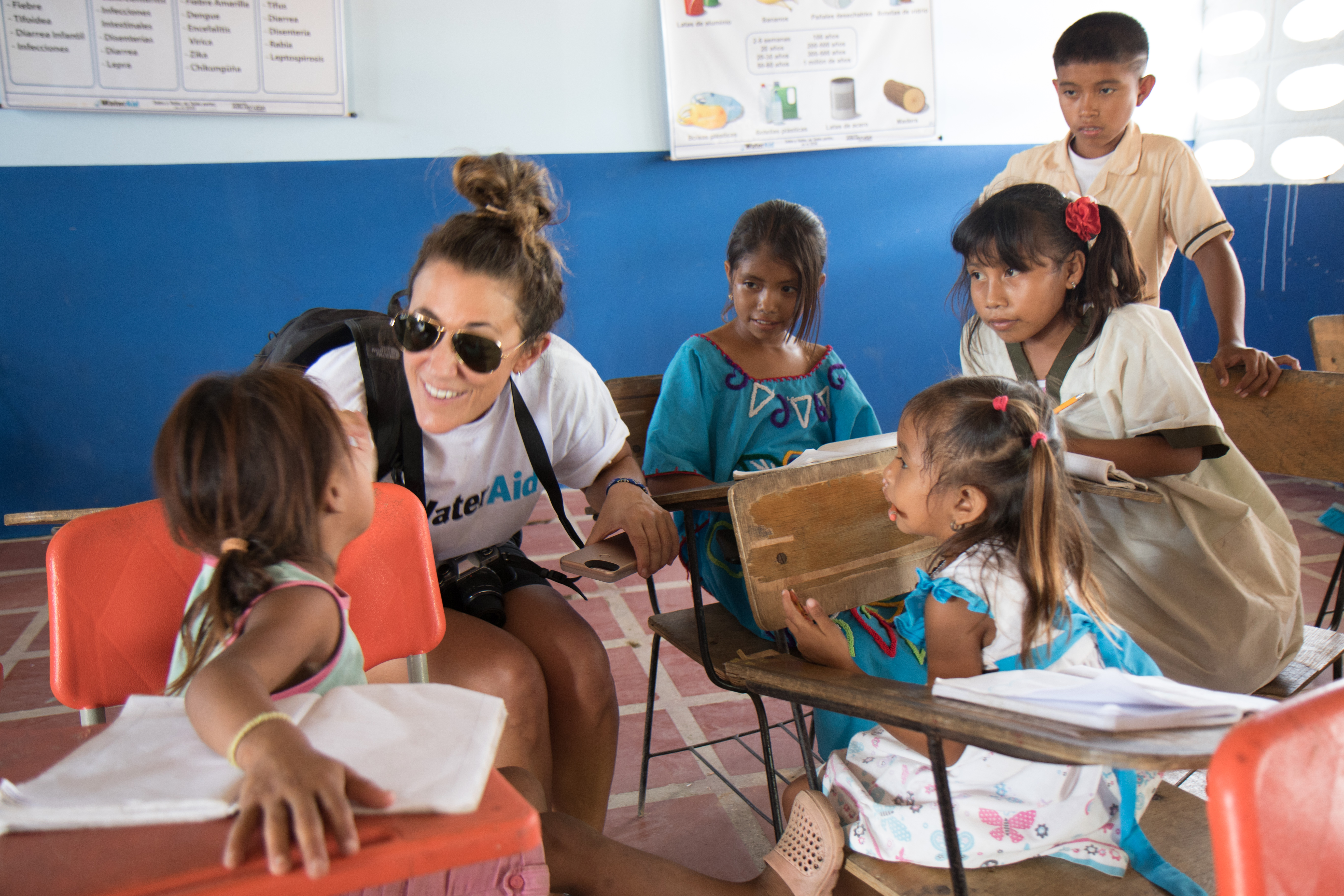 WaterAid America board member visits Colombia program
